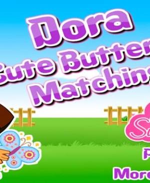 Dora y sus mariposas