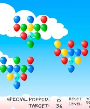 Mono y globos
