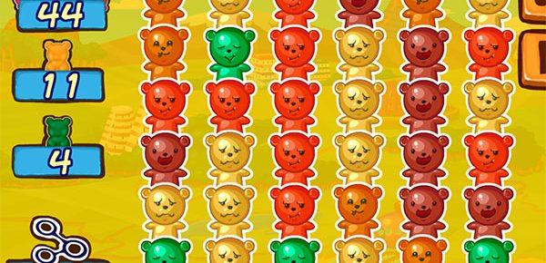 Pasatiempo infantil de unir por colores