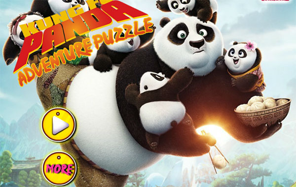 Kungfu Panda Puzzle