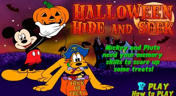 Halloween Juego Memoria