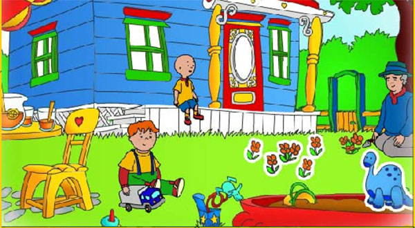 Puzzles Caillou